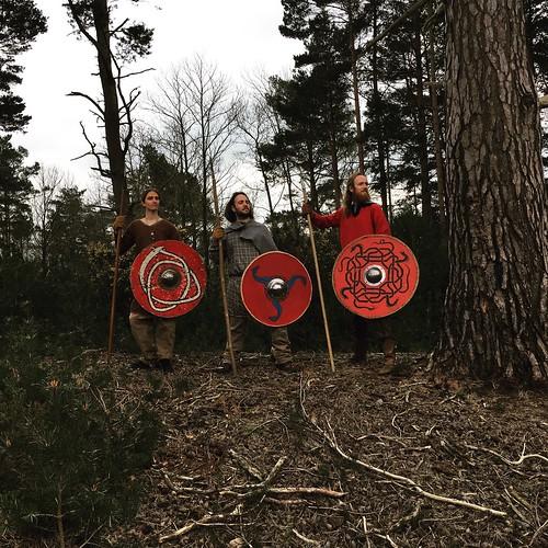 The Oestvikingae, posing