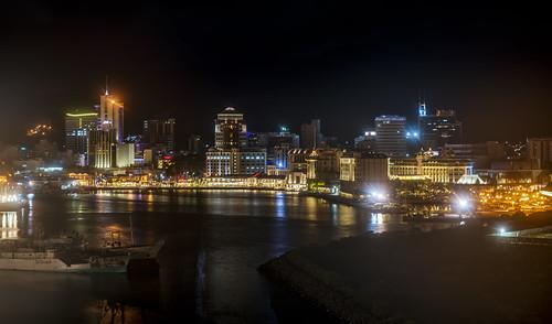 пейзаж landscape море sea ночь порт night port город city dmilokt beginnerdigitalphotographychallengewinner ins