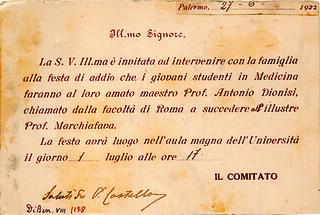 Palermo - Invito