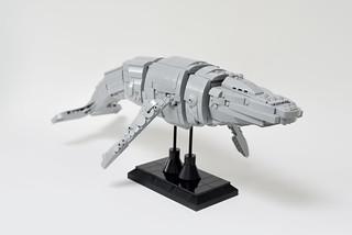 Lego HumpBack Whale - atana studio   by Anthony SÉJOURNÉ