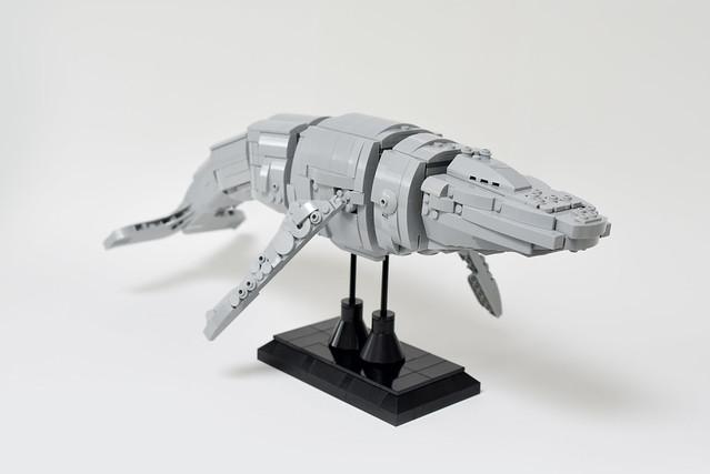 Lego HumpBack Whale - atana studio