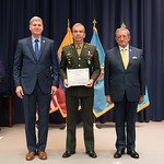 Fri, 03/29/2019 - 14:35 - On Friday, March 29, 2019, the William J. Perry Center for Hemispheric Defense Studies hosted a graduation ceremony for two courses: 'Strategic Implications of Human Rights and Rule of Law' and 'Combating Transnational Threat Networks.' Students from all over the Americas attended the courses from March 18-29, 2019. The graduation ceremony and reception took place in Lincoln Hall at the National Defense University's North Campus at Fort McNair in Washington, DC.