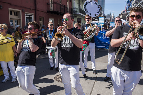 The opening parade to French Quarter Fest 2019 on April 11, 2019. Photo by Ryan Hodgson-Rigsbee RHRphoto.com