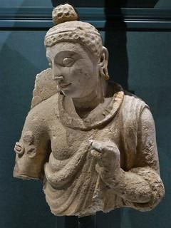 Buddha, Ghandara, c. 400 AD