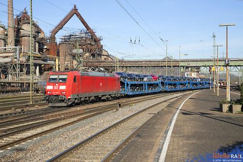 185 197 DB Cargo . Völklingen . 21.03.19.