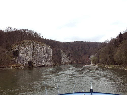 12 - Anfahrt auf den Donaudurchbruch - Donaufahrt zum Kloster Weltenburg
