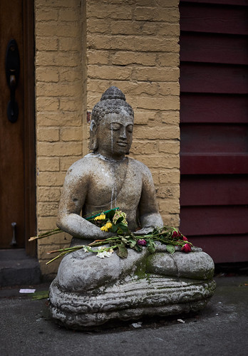 Sidewalk Buddha | by Harry Teasley