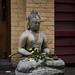 Sidewalk Buddha