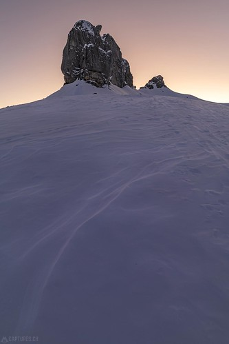 After sunrise - Lobhörner | by Captures.ch