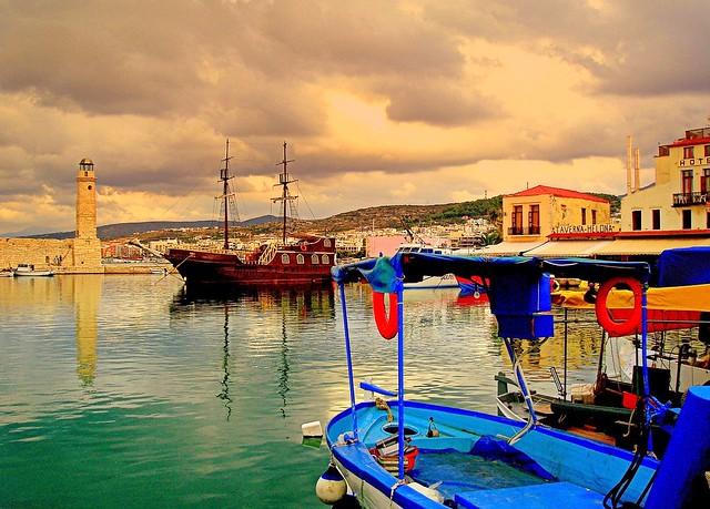 Harbor in Rethymno