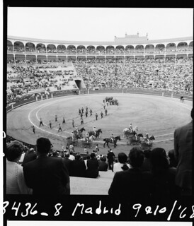 Aplin: Bullfight in Madrid, Spain in 1968