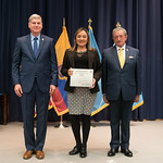 Vi, 03/29/2019 - 14:35 - On Friday, March 29, 2019, the William J. Perry Center for Hemispheric Defense Studies hosted a graduation ceremony for two courses: 'Strategic Implications of Human Rights and Rule of Law' and 'Combating Transnational Threat Networks.' Students from all over the Americas attended the courses from March 18-29, 2019. The graduation ceremony and reception took place in Lincoln Hall at the National Defense University's North Campus at Fort McNair in Washington, DC.
