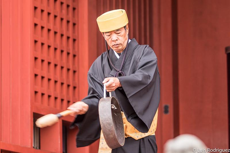 Ritual en la puerta Hoshinmon