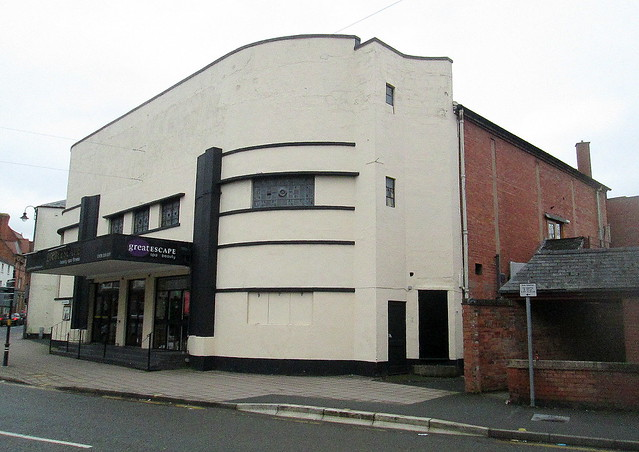 Former Pola Cinema, Welshpool, from Side
