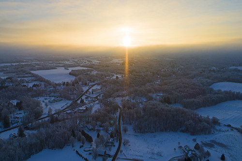 frozen cold chilly life winter snow snowy drone skaneateles home ice sunrise freezing dji djiphantom4 phantom4 drones aerial beautiful diamond diamonddust