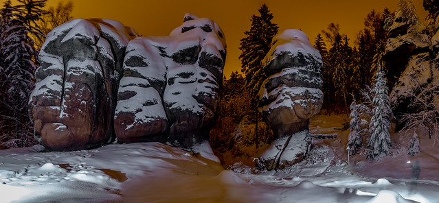 Kelchsteine im Winter
