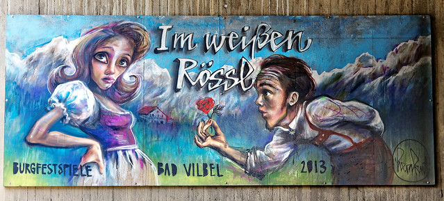 Streetart in Bad Vilbel