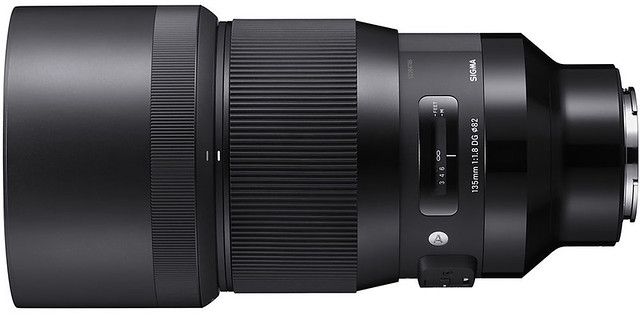Sigma FE 135mm ƒ/1.8 DG HSM Art