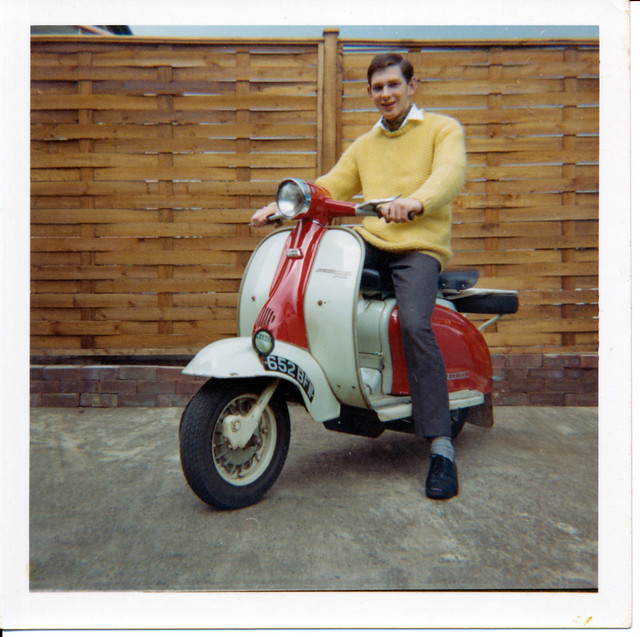 IMG_0017 Lambretta 150cc Scooter 652BFW 16 Priory Crescent Ashby Scunthorpe Lincs March 1967 MGS