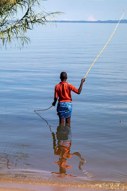 Fishing on Lake Victoria, Tanzania