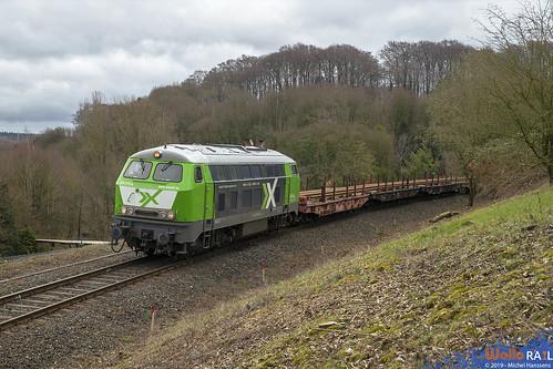 225 073 AIXrail . Stolberg - Hammer . 16.03.19.
