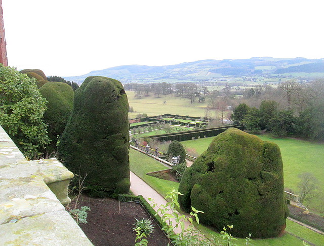Powis Castle, Shrubbery and Gardens