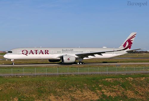 F-WZNG Airbus A350 Qatar | by @Eurospot