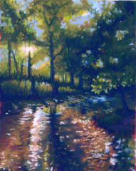 """""""Gans Creek"""" - Hope Martin 