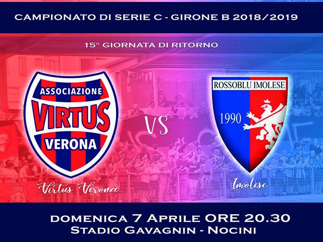 Virtus Verona - Imolese, l'arbitro é...