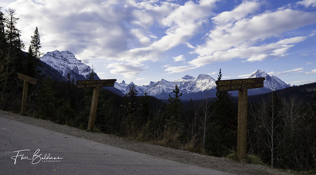 Mount Hardisty, Athabasca Pass & Mount Edith Cavell