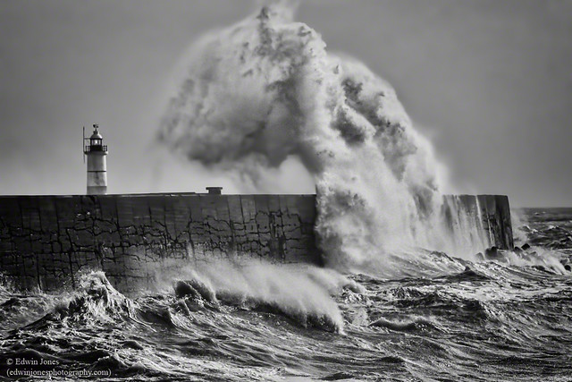 Storm Eric Giant at Newhaven
