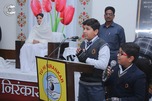 Child devotees express their views