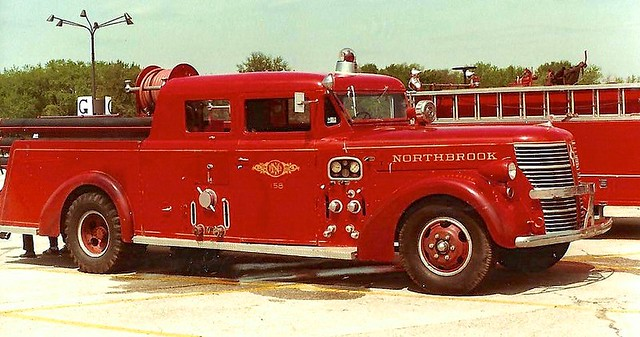 Classic American LaFrance engine, from Northbrook IL.
