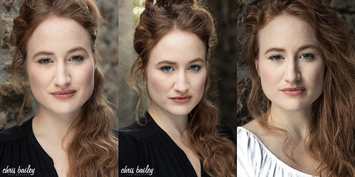 New headshots of Actress, Sarah Jane Worrall | by Chris Bailey Photographer