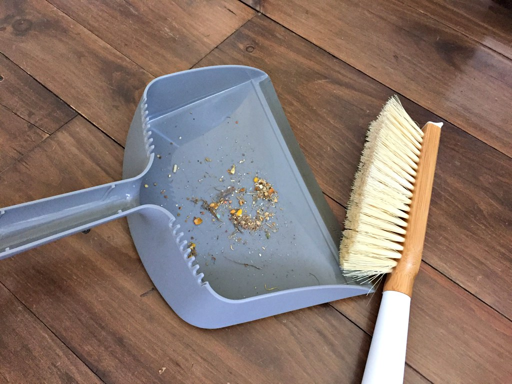 favorite dust pan and broom