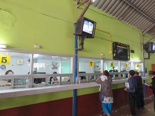 チェンマイ競馬場の馬券売場