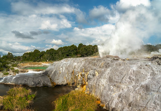 Geothermal wonderland, Rotorua Geysers, New Zealand | by Hanna Tor