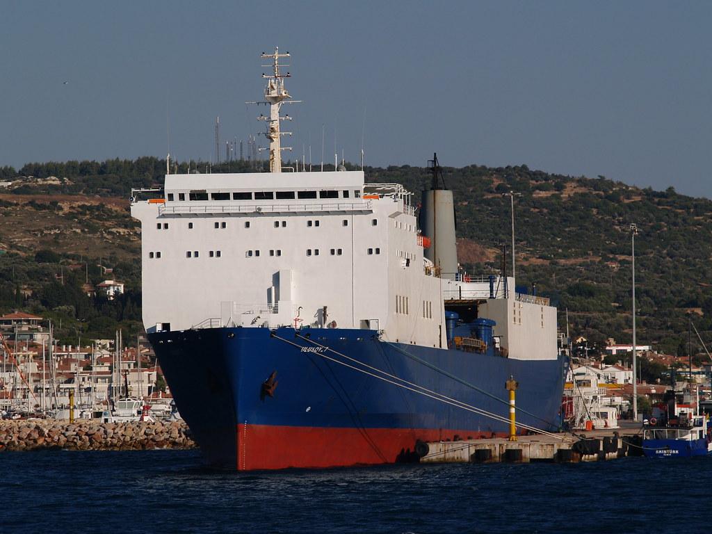 RoRo vessel 'Ulusoy 7', Çeşme, Turkey | OLYMPUS DIGITAL CAME… | Flickr