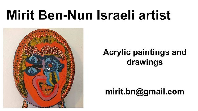 Mirit Ben-Nun artist art visual expressive exhibition gallery