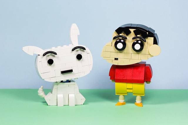 Shiro & Crayon Shin-chan