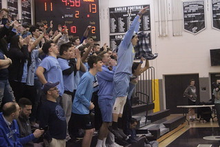 A Freehold Twp. student jumps off the front row. | by tedtee308