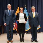 Vi, 03/29/2019 - 14:41 - On Friday, March 29, 2019, the William J. Perry Center for Hemispheric Defense Studies hosted a graduation ceremony for two courses: 'Strategic Implications of Human Rights and Rule of Law' and 'Combating Transnational Threat Networks.' Students from all over the Americas attended the courses from March 18-29, 2019. The graduation ceremony and reception took place in Lincoln Hall at the National Defense University's North Campus at Fort McNair in Washington, DC.