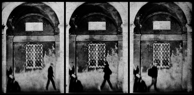 Triptych of souls