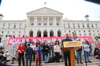 11 de Abril - Concentração na Assembleia da República