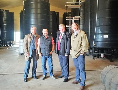 At Thistly Cross cidershed with Martin Whitfield MP | by Iain Gray MSP