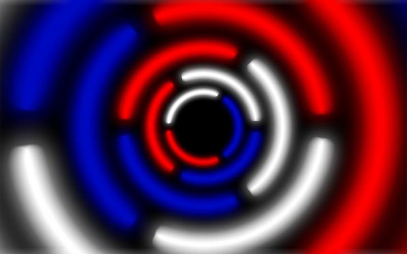 Обои круг, россия, белый, синий, красный картинки на рабочий стол, фото скачать бесплатно