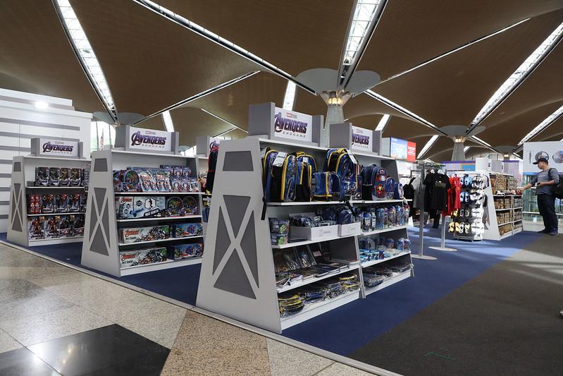 Setup 2 - Marvel retail area in KLIA