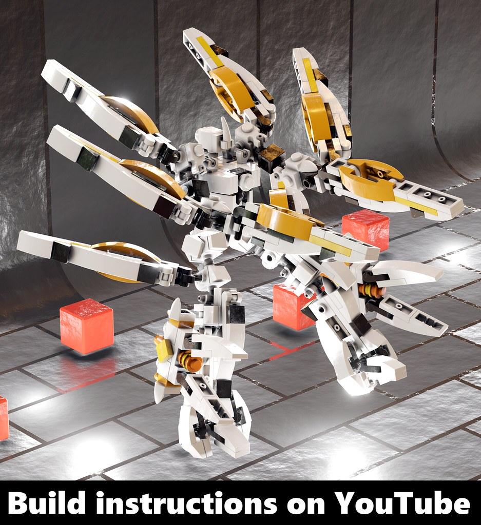 LEGO Mech Tutorial - Unicorn Alpha Unit | Mech Tutorial: you