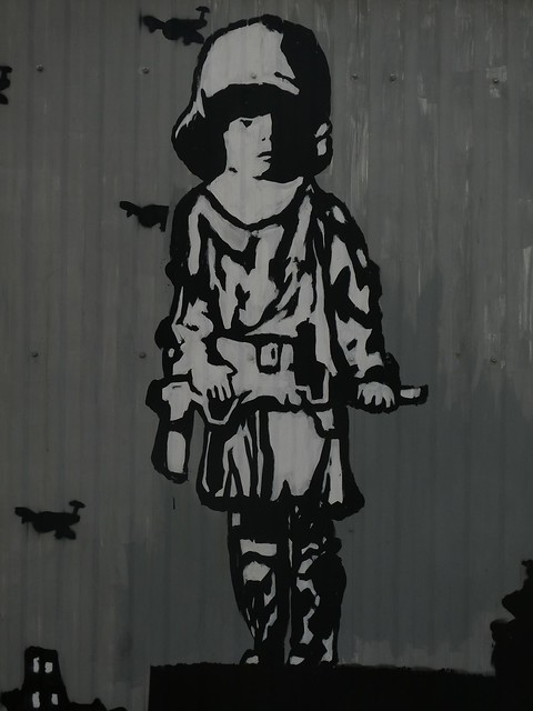 Warsaw Uprising mural on Złotopolska Street