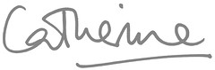 Catherine signature